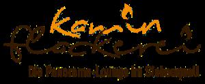Siebenquell Hotel – Gastronomie – Kaminflackerei Lounge – Logo transparent